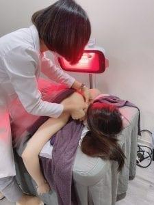 痛症治療-註冊中醫針灸及遠紅外線理療燈