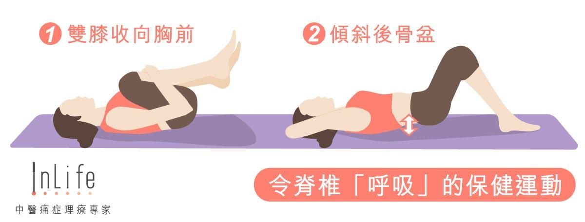 減輕脊椎壓力的保健運動